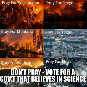 Don't Pray VOTE