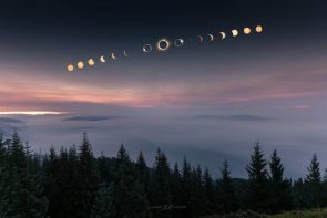Eclipse from Oregon