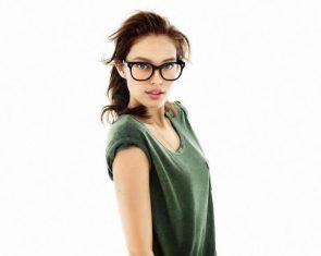 Emily Didonato in glasses