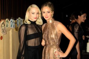 Emma Stone and Jennifer Lawrence –  The New York Premiere of 'Mother' USA – 13 Sep 2017