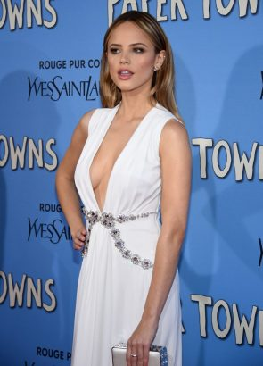 Halston Sage In A Nice White Dress