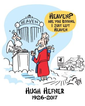 Heaven RIP Hugh Hefner