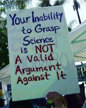 inability to grasp science