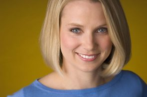 Marissa Mayer Smiles About Her Future