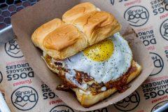 massive egg burger thing