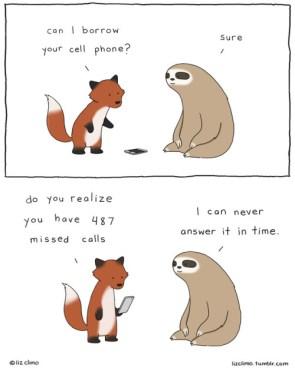 Sloth Phone