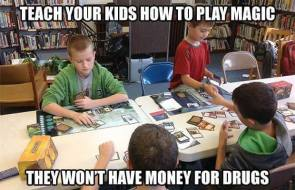 teach your kids how to play magic