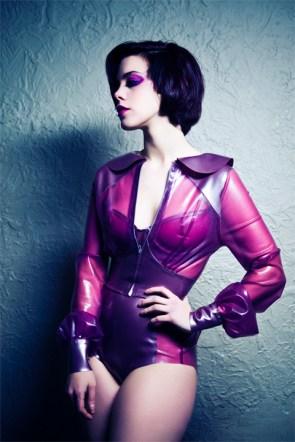 violet latex