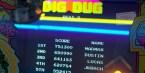 751300 High Score on Dig Dug