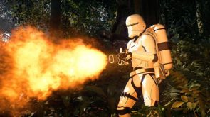 Battlefield II flame trooper