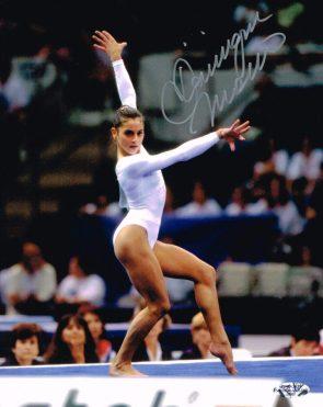 Dominique Moceanu fancy moves