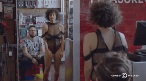100 Pictures of Ilana Glazer from nearly every angle in a body stocking