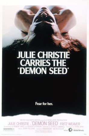 Julie Christie carries the Demon Seed
