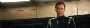 Shatner in Discovery Uniform