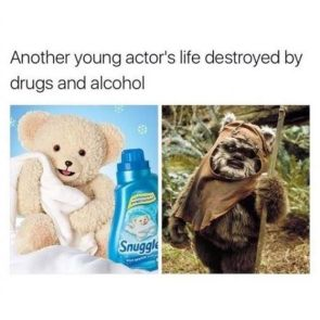 Another young actor's life destroyed