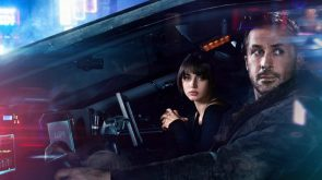 Blade Runner In Car with Holographic Girlfriend