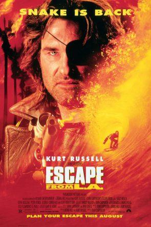 escape from LA movie poster