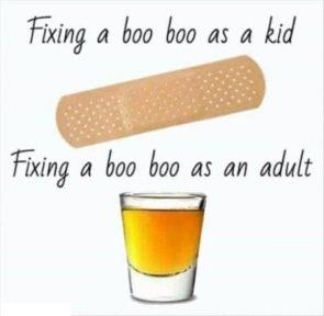 Fixing a Boo Boo