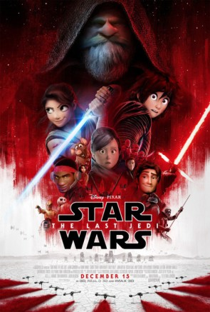 If Pixar made Star Wars The Last Jedi