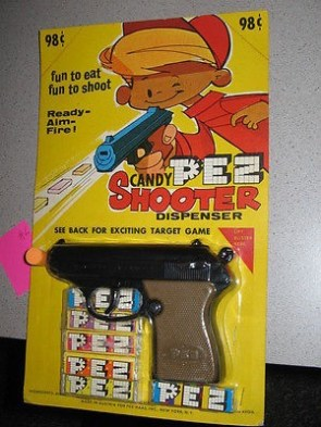 pez candy shooter