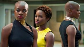 Three Female Black Women Super Heroes