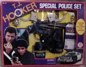TJ Hooker Special Police Set