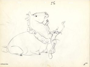Whats Opera Doc Layout and Concept Art by Chuck Jones