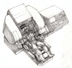Ron Cobb Total Recall Concept Art