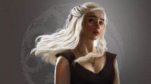 Wind Swept Mother Of Dragons