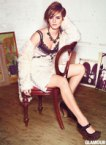 Emma Watson in weird shoes