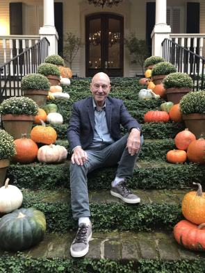 Sir Patrick Stewart is ready for Halloween