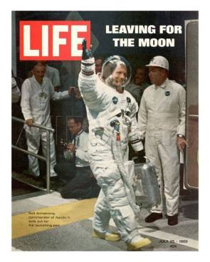 LEAVING FOR THE MOON