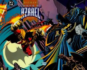 Azrael jumping at The Batman