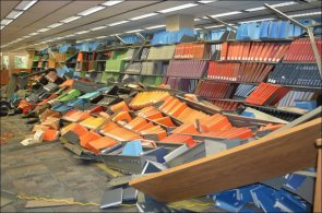 Destroyed Library