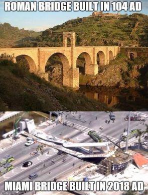 Roman vs American Bridges