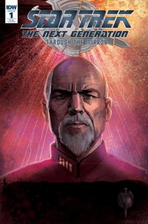 Star Trek The Next Generation Through The Mirror #1