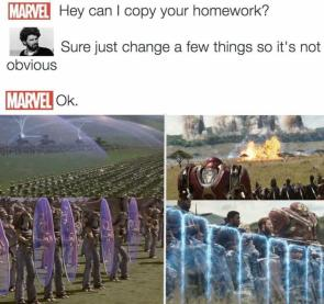 Can I copy your homework