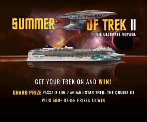 Enter For A Free Star Trek Cruise