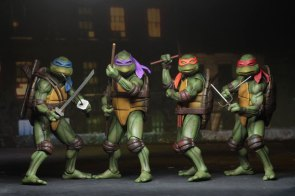 Check Out NECA's Teenage Mutant Ninja Turtles 1990 7″ Action Figures