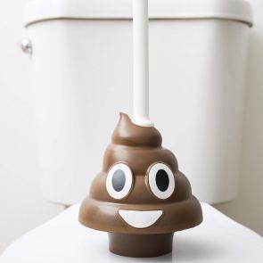 Squatty Potty Emoji Poo Plunger