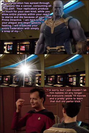 Thanos In Star Trek