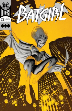 Batgirl #28 cover art by Mattie Hollingsworth Sean Murphy Julian Totino Tedesco