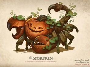 """The Scorpkin"", Justin Gerard"