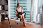 sexy office woman