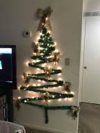 Christmas Tree Wall