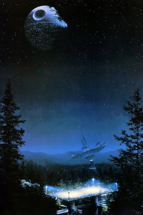 Return of the Jedi on the planet moon of Endor.jpg