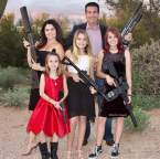 ring wing lunatic family armed to the fucking teeth ready to kill anyone that gets too close to them