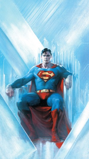 Superman in his fortress.jpg