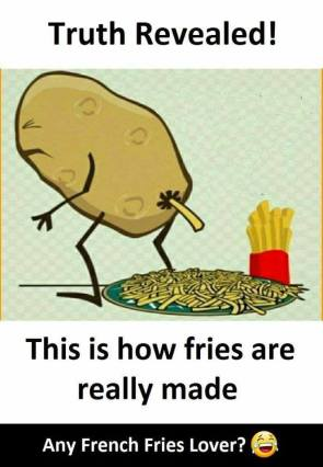 how fries are made