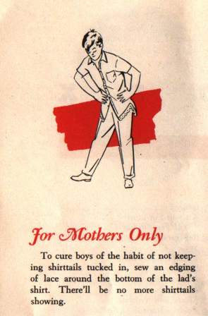 FOR MOTHERS ONLY